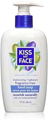 Kiss My Face, Soap Hand Liquid Fragrance Free, 9 Fl Oz