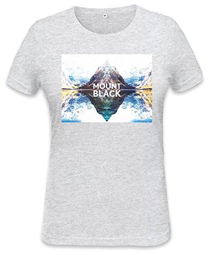 Mount Black Mirror Landscape Womens T-shirt Small