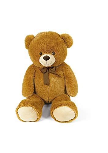 peluche orso gigante Orso peluche gigante 80 cm san valentino bianco beige marrone peluche san valentino orsacchiotto orsacchiotti piccoli peluche 80 cm (Marrone)