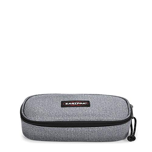 Eastpak Oval Single Federmäppchen, 22 cm, Grau (Melange Print V)