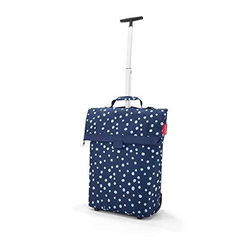 Reisenthel trolley M Einkaufstasche, Polyester, spots navy, One Size