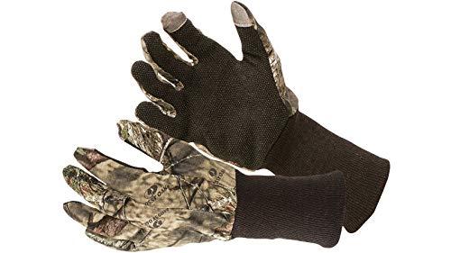 Allen Company Camo Jersey Hunting Gloves - Mossy Oak Break-Up Country