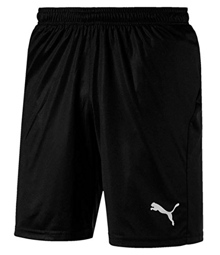 PUMA Herren Hose LIGA Shorts Core with Brief, PUMA Black-PUMA White, M, 703615