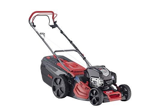 AL-KO Benzin-Rasenmäher Premium 470 SP-B (46 cm Schnittbreite, Briggs & Stratton Motor mit 2.4 kW, Stahlblechgehäuse, Hinterradantrieb, Mulchfunktion, Seitenauswurf, für Rasenflächen bis 1400 m²)