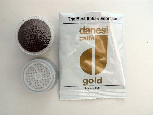 Danesi Caffe Gold Espresso Point Cartridges 50 count for Lavazza Espresso Point Machines