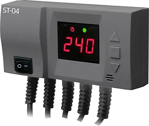 Módulo de control para caldera, bomba de calefacción central y ventilador LED