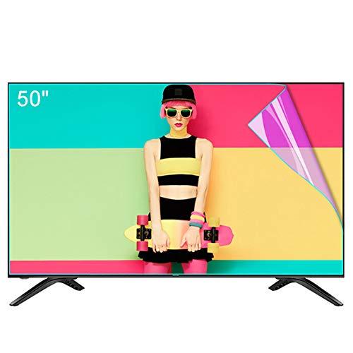 """ZSLD 32~80-Zoll-TV-Displayschutzfolie, Anti-Blaulicht- / Blendfilter Mit Linderung Der Augenermüdung, Für LCD-LED-OLED-QLED-HDTV,50\"""" 1101 * 620mm"""
