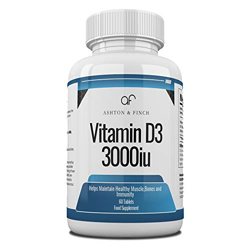 Vitamin D3 1000iu Bottled in 60s
