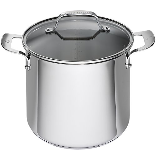 Emeril Lagasse stock pot, 8 quart, Silver