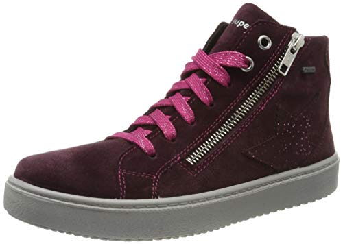 Superfit Mädchen Heaven Gore-Tex Hohe Sneaker, Rot (Rot 50), 27 EU