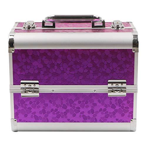ALUK- Kosmetikkoffer,für Koffer & Handgepäck | Waschtasche Reise-Tasche,für Make Up Reise Friseur Koffer,Aluminiumlegierung, In Vielen Farben Erhältlich
