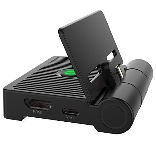 Beedove Switch Dock, Base de Carga Nintendo Switch Portátil, Soporte de Interruptor...