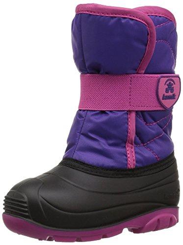 Kamik Mädchen SNOWBUG3 Schneestiefel, Violett (Purple/Magenta-Violet Plum), 26 EU