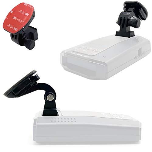 LycoGear Radar Detector Easy Magnet Adhesive Mount for Escort MAX360C MAX 3 EX, iX, iXc, Beltronics GT-1, GT-360 Cobra DualPro 360 Radar Detectors