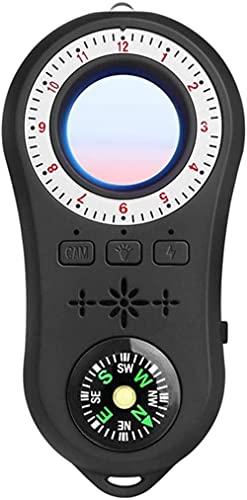 Detector de cámara de exploración infrarroja de señal inalámbrica Travel Hotel multifunción Mini Anti-cámara (negro)