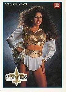 1992 Lime Rock Pro Cheerleaders Football #52 Melissa Zeno New Orleans Saints