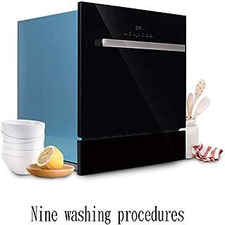 GJJSZ Mini lavavajillas portátil sobre encimera,lavavajillas Empotrado multifunción,Cocina Familiar pequeña con 8 Cubiertos,Mudo,negro/1380w