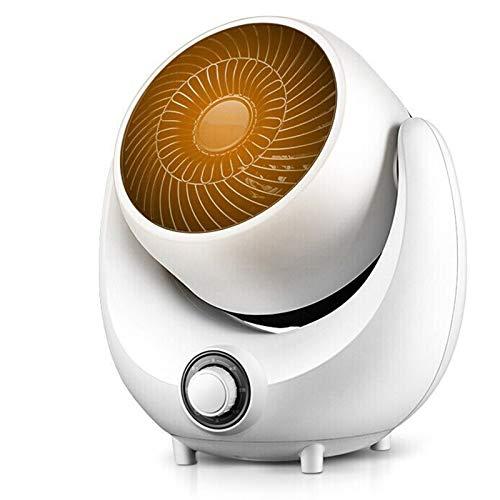 JINBAO Calentador Mini Pequeña Torre de Sincronización Remota de Ahorro de Energía Que Ahorra Energía Cabeza Sacudida Calentador Eléctrico Hogar-Blanco 11.81 * 9.06 * 13.31 Pulgadas