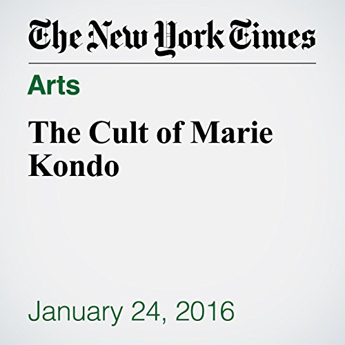 The Cult of Marie Kondo audiobook cover art