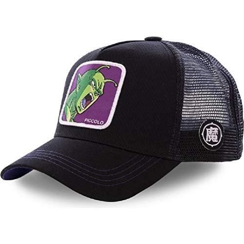 Boné Aba Reta Nova marca Dragon Ball capsule corp snapback algodão boné de beisebol das mulheres dos homens hip hop pai malha chapéu de camionista (7)