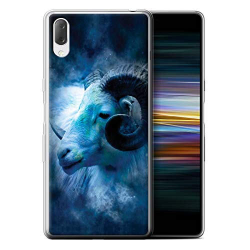eSwish Phone Case/Cover/Skin/SXP-GC/Zodiac Star Sign Collection Sony Xperia L3 2019 Aries/Ram