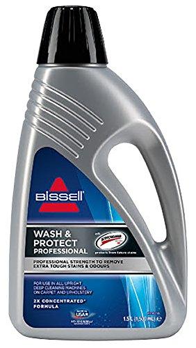 Bissell Wash & Protect Pro reinigingsformule, voor tapijten en gestoffeerde meubels, grijs, 15 x 8 x 27 cm