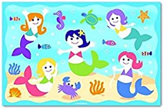 Mermaids - Laminated Placemat with Under Water Theme