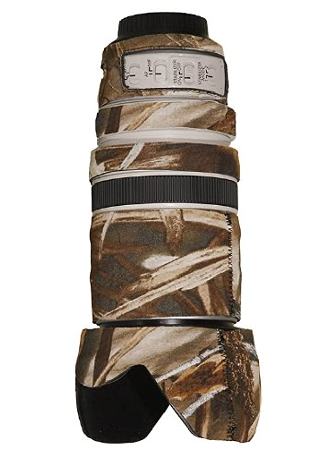LensCoat Lens Cover for Canon 28-300IS Camouflage Neoprene Camera Lens Protection Sleeve (Realtree Max4 HD) lenscoat