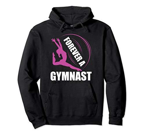 Für immer ein Gymnast-Gymnastik-Kleid Pullover Hoodie