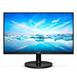 "Philips 221V8 Gaming Monitor 22"" Adaptive sync 75 Hz, VA, Full HD, 4ms, HDMI, VGA, Attacco VESA, Nero"