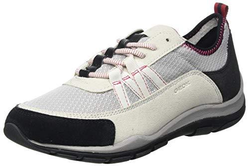 Geox D KANDER A, Zapatillas Mujer, Color Gris, 40 EU