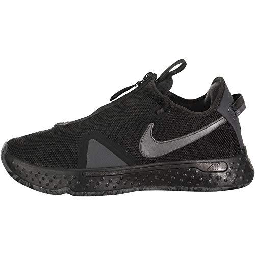 Nike Pg 4 Uomini Pallacanestro Moda Sneaker Cd5079-005, (Nero/Metallico Grigio Scuro-nero), 40 EU