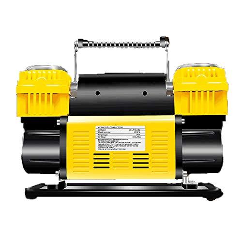 WNN-URG Compresor de Aire del Coche, 12V portátil inflador de neumáticos de Coches Bomba compresora URG
