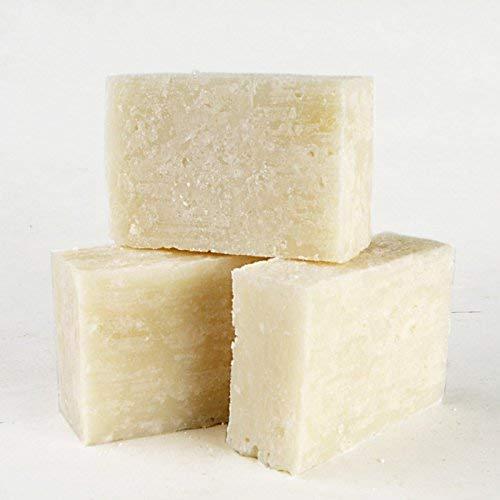 Walde Handgeschöpfte Salzseife, ohne Duft, 100g