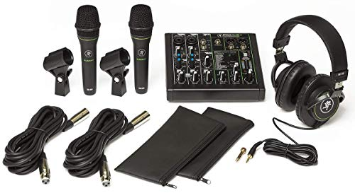 Mackie Performer Bundle: Konsole, 2 Mikrofone, Headset