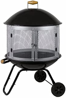 Well Traveled Living 01471 Four Seasons Courtyard Bonfire Patio Firepit, 28-Inch