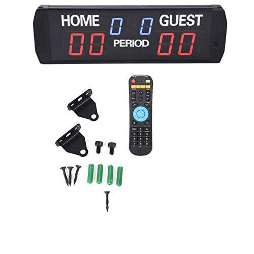 LDDLDG GI6T- (3 + 2.3) R Puntuación Electrónico LED Puntuación Digital Keeper CN Plug 100-240vac Puntuación De Puntaje Digital Puntuación Cuayador Puntuación Electrónica