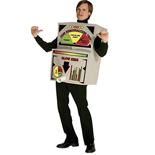 Breathalyzer Costume Adult Costume - One Size