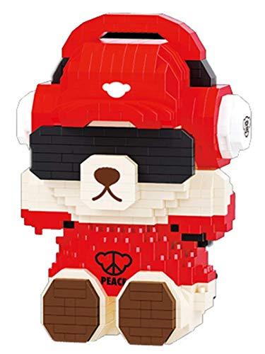 RSVT Osos Figuras De Acción para Niños 785Pcs + Micro Bloques De Construcción Anime Mini Blocks Colección Juguetes para Niños