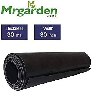Mr Garden 30mil Tree Root Barrier Water Barrier Garden Edge Sheet, 30 in. W x 50 ft. L
