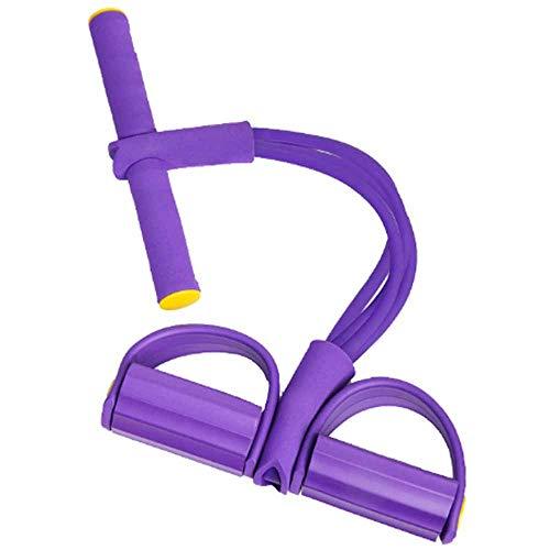 Entrenador De Piernas Multifuncional Deextensor De Abdominales, Dispositivo De Acondicionamiento De Piernas para Yoga. (Color : Purple)