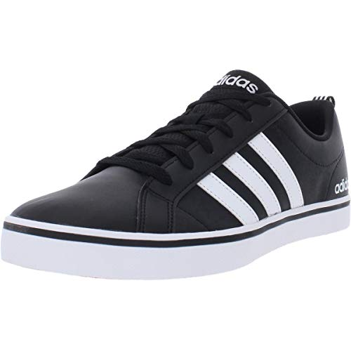 adidas Men's VS PACE Sneaker, core Black, FTWR White, Scarlet, 9.5 M US