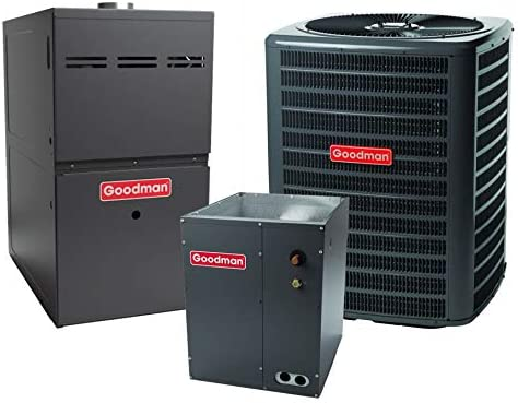 Goodman 2.5 TON 15.0 SEER Air Conditioner wholesale with G Bundle Furnace SEAL limited product