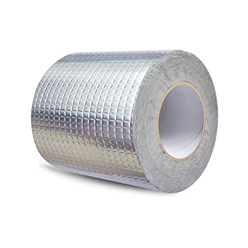 SSJY Cinta Impermeable de Aluminio, Tela Adhesiva Papel
