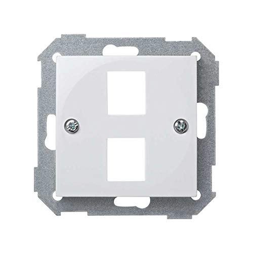 Simon 28089-30 - Adaptador Para 2 Rj45 (Categ.5) De Amp
