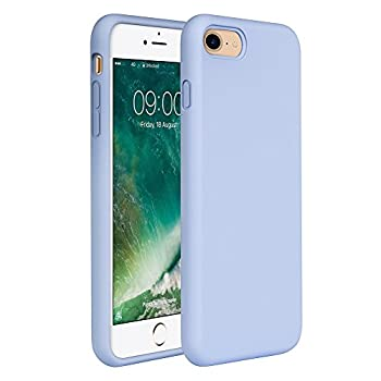 Miracase iPhone SE 2020 Case,iPhone 8 case,iPhone 7 Silicone Case Gel Rubber Full Body Protection Cover Case Drop Protection for Apple iPhone SE 2020/ iPhone 8/ iPhone 7 4.7   Clove Purple