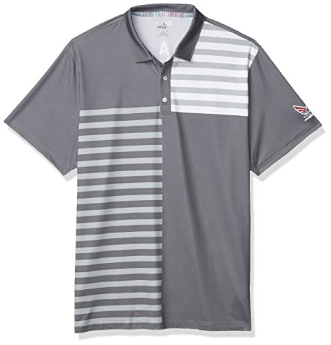 PUMA Golf 2020 Volition Liberty Poloshirt für Herren, Herren, Polo, 2020 Volition Liberty Polo, Leiser Lampenschirm, 3X-Large