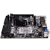 Auoeer G41 771/775 Pin PRÁCTICA PRINCIPARIA PLATABOAPT Support para Xeon 771 Pin/Core 775 Pin CPU con SATA 2 USB 2.0 DDR3 1333 Placa Base de Doble Canal para Intel