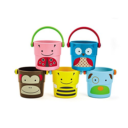 Skip Hop Buckets are popular bath time toys for little ones