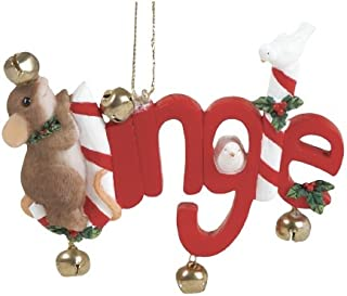 Fitz and Floyd Charming Tails Ornament - Holiday Jingle